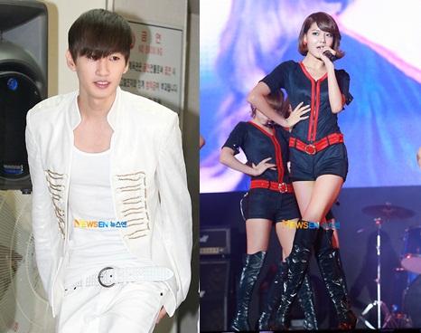 Gyuri and eun hyuk dating