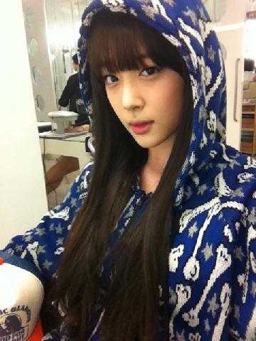 f(x)'s Sulli Takes a Selca in Busan | SMTownJjang♥ F(x) Sulli Selca